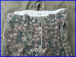 German elite army camo dot-44 WW2 suit size 52 repro