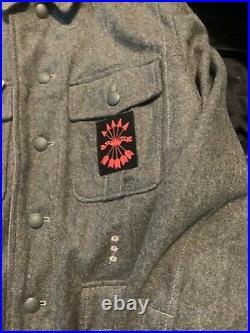 German m40 tunic Spanish blue division