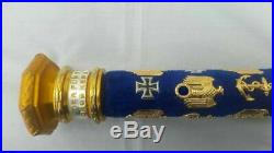German navy field Marshall batons Hand made with Box