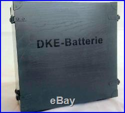 Highly accurate replica WWII 2WK German military DKE38 Batterie wooden chest