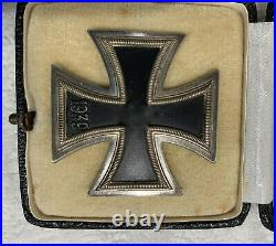 Iron Cross 1st Class, Marked 15 Friedrich Orth with Carton