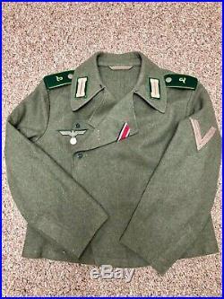 Lost Battalions Uniform Assault Gun Jacket / Panzer Wrap