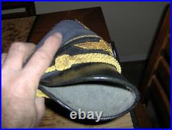 Luftwaffe General's Visor Crusher Cap