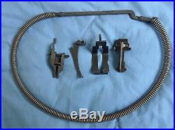 M1 Garand set of internal parts, SA op rod catch and pin, SA follower rod
