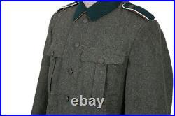 M36 EM Field Grey Wool Combat Tunic All Sizes