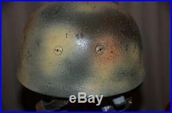 M38 Paratroop Reproduction Helmet-normandy Camo