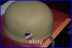 M38 Paratrooper Helmet Desert Camo FALSHIMGJAGER PARATROOPER