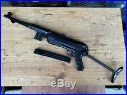 MP40 Schmeisser SMG, Marushin, German, WW2 replica, Non firing, movie prop MP 40