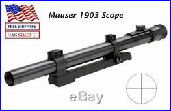 Mauser 1903A4 Rifle Scope Steel Tube and Steel Mount Drill and Tap included