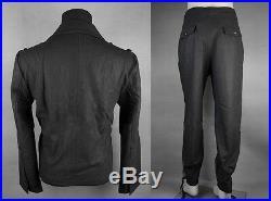 Men's German Elite Panzer Wool Military Uniform Jacket & Trousers XXL