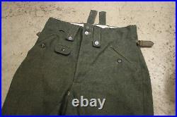 Movie Prop from Epic Estonian Movie 1944 WW2 German Waffen-SS M43 Wool Trousers