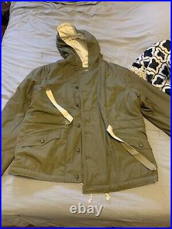 New At The Front German Parka Size 3