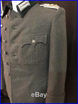New made M36 Bottle Green WOOL enlisted TUNIC WWII German Army XL size 48 D-Day