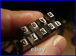 Numbering stamp for Colt