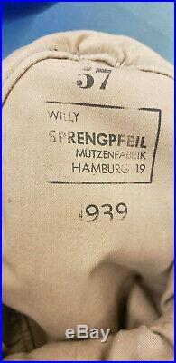 Original 1939 German Military M43 Hat 100% Authentic