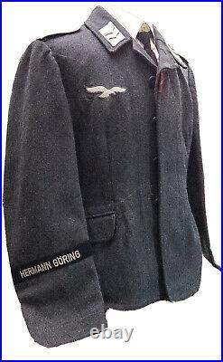Original German WW2 Near Mint Luftwaffe Hermann Göring Wool Tunic (RARE)