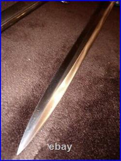 Original WW2 German Army Dagger FW Holler
