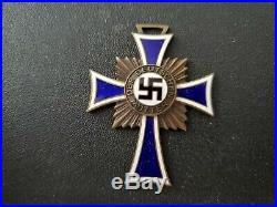 Original World War II Mother's Cross Medal of Honor 1938 Germany