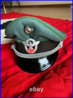 Original Ww2 Wwii German Army Officers Cap