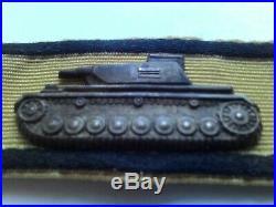 Original ww2 german tank destruction badge