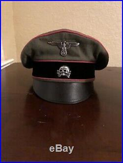 Panzer Waffen-SS Crusher Cap museum Quality Size 58