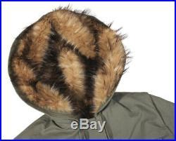 Parka/anorak Kharkov model Racoon fur