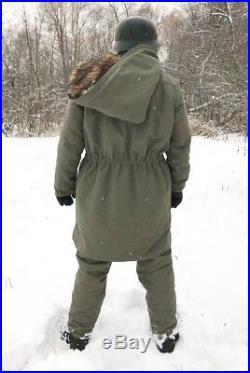 Parka/anorak full lenght opening Racoon fur