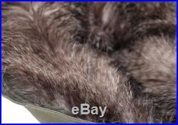 Parka/anorak full lenght opening gray fur