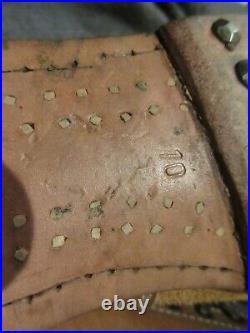 REPRODUCTION GERMAN WW2 LOW BOOTS WithHOBNAILS SIZE 10 SM WHOLESALE