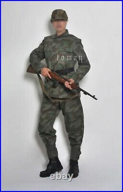 Replica WW2 German Army Splinter A Camo M43 Tunic And Pant
