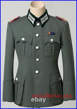 Repro OKW Graf Von Stauffenberg M36 Gabardine Tunic with Breast Insignia