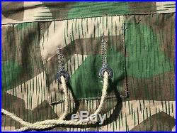 Repro WWII German Splinter M31 ZELTBAHN zelt shelter quarter camo poncho gear