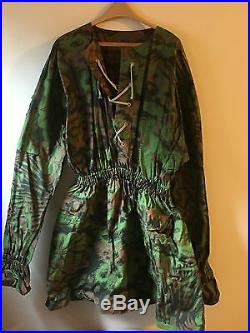 Reproduction German Ss Palm And Clumps Camo Smock Big Size
