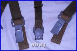 Reproduction German Texled Web Y-Straps made by At The Front