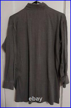 Reproduction German WWII M40 Field Gray Wool Tunic with Service Shirt & Insignia