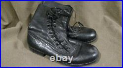 Reproduction German Ww2 Luftwaffe Fallshirmjager Side Lace Paratrooper Boots Smw