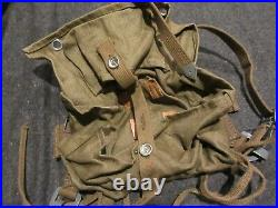 Reproduction German Ww2 Tropical A-frame At The Front Texled Afrika Late War