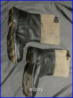 Reproduction German Ww2 Winter Jack Boots Filzstiefel Size 10