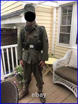 Reproduction M43 Elite Tunic/ Size 42/ Check Description/ Offers Accepted