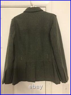 Reproduction WW2 German M43 Field Grey Wool Tunic