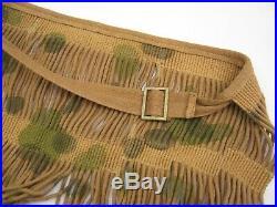 Reproduction WW2 German elite sniper camouflage face veil slide buckle version