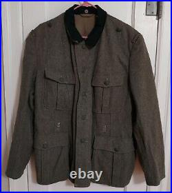 Reproduction WWII German M36 Wool Tunic with extras, made by Sturm