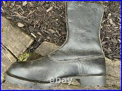 Reproduction WWII German Paratrooper Boots Side Lace Leather Fallschirmjager