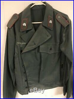 Reproduction Wwii German Panzer Wrap Jacket Ww2