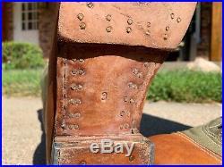 SMWholesale DAK Reproduction Boots, Size 9