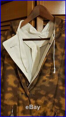 SM Wholesale WWII German Elite Blurred Edge Camo Jacket Parka Pants Trousers