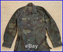 S. M. Wholesale WWII WW2 M29 Italian Camouflage Coveralls (Kombi) Size 40