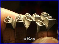 Set Schlagstempel Stamp for Harley Davidson 7/32 inch 5,55 mm