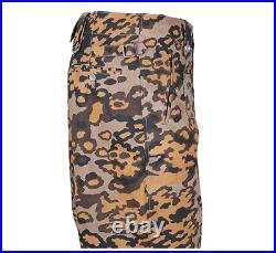 Size L WWII German Elite Autumn Oak Camo M43 Field Tunic Trousers Re-Enactors
