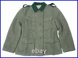 Size M WWII German 1936 M36 Em Wool Field Tunic & Trousers, War Re-Enactors